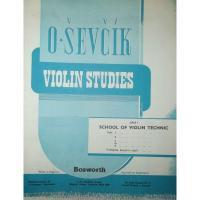 Sevcik Violin Studies Op. 1 Part 3 School of violin technic - Bosworth