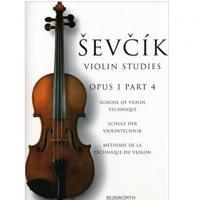 Sevcik Violin Studies Opus 1 Part 4 School of violin technic