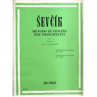 Sevcik Metodo di violino per principianti Op. 6 IV Fascicolo (Renato Zanettovich) - Ricordi
