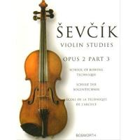 Sevcik Studies Op. 2 Part 3 School of bowing technic - Bosworth
