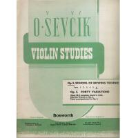Sevcik Violin Studies Op. 2 Part 6 School of bowing technic - Bosworth