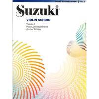 Suzuki Violin School Volume 1 Piano Accompaniment Revised Edition -