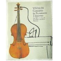 Vivaldi Concerto in Fa minore L'Inverno Op. VIII n. 4 - F. I n. 25 per violino e pianoforte (Soresina) - Ricordi