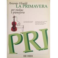 Vivaldi LA PRIMAVERA per violino e pianoforte - Ricordi