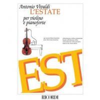 Vivaldi L'Estate per violino e pianoforte - Ricordi