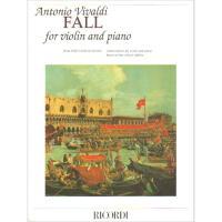 Vivaldi FALL for Violin and piano - Ricordi