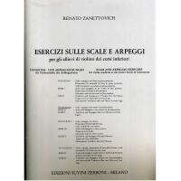 Zanettovich Esercizi sulle scale e arpeggi per gli allievi di violino dei corsi inferiori II Fascicolo - Edizioni Suvini Zerboni Milano