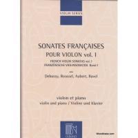 Violin Series Sonates Francaises pour violon Vol. 1 Violin and Piano - Durand