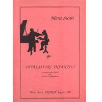 Maria Sicari Impressioni Infantili Composizioni facili per violino e pianoforte - Edizioni Musicali Sinfonica
