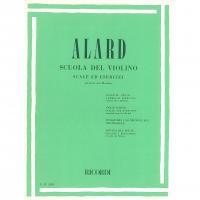 Alard Scuola del violino Scale ed esercizi - Ricordi