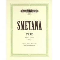 Smetana TRIO G moll G minor sol mineur Opus 15 - Edition Peters