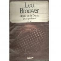 Leo Brouwer Elogio de la Danza para guitarra GA 425 - Schott