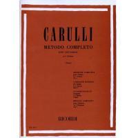 Carulli Metodo Completo per Chitarra In 3 Volumi (Terzi) - Ricordi
