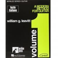 A modern method for guitar Berklee Series William G. Leavitt Volume 1 - Carisch