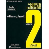 A modern method for guitar Berklee Series William G. Leavitt Volume 2 - Carisch
