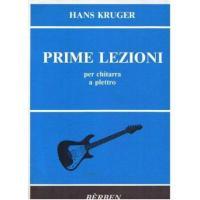 Hans Kruger Prime Lezioni per chitarra a plettro - Bèrben
