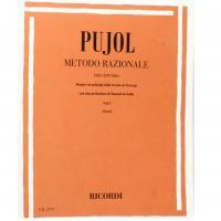Pujol Metodo Razionale per chitarra Vol. 1 (Terzi) - Ricordi