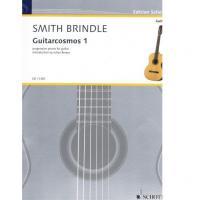 Guitarcosmos 1 progressive pieces for guitar Reginald smith brindle Julian Bream - Schott