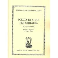 Scelta di studi per chitarra NUOVA EDIZIONE Ruggero Chiesa - Edizioni Suvini Zerboni