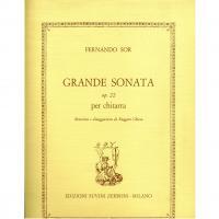 Fernando Sor Grande Sonata op. 22 per chitarra Ruggero Chiesa - Edizioni Suvini Zerboni
