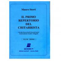 Mauro Storti Il primo repertorio del chitarrista Volume Primo - Bèrben