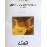Mauro Storti Metodo Secondo per chitarra - Carisch