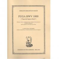 Johann Sebastian Bach Fuga BWV 1000