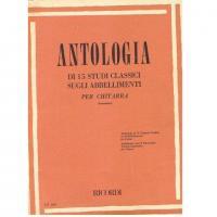Antologia di 15 Studi classici sugli abbellimenti per chitarra - Ricordi