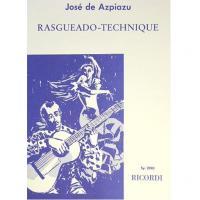 José de Azpiazu Rasgueado - Technique - Ricordi