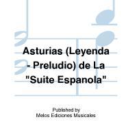 Albéniz ASTURIAS Leyenda - Preludio De la