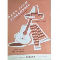 Back from pernambuco bossa nova per chitarra - Bèrben