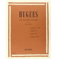 Hugues 40 Nuovi Studi Op. 75 per flauto - Ricordi