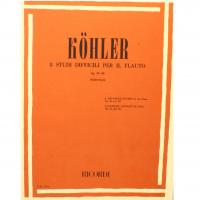 Kohler 8 Studi difficili per il flauto Op. 33 III (Fabbriciani) - Ricordi