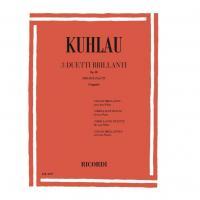 Kuhlau 3 Duetti Brillanti op. 80 per 2 flauti (Veggetti) - Ricordi