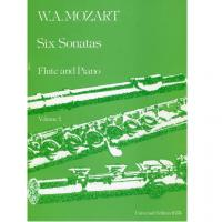 Mozart Six Sonatas Flute and Piano Volume 1 - Universal Edition 16174