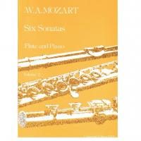 Mozart Six Sonatas Flute and Piano Volume 2 - Universal Edition 16175