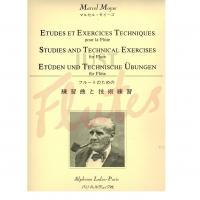 Marcel Moyse Studies and Technical Exercises for Flute - Alphonse Leduc