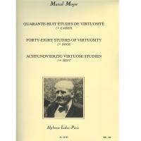 Marcel Moyse Forty-eight Studies of virtuosity - 1st book - Alphonse Leduc