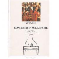 Vivaldi Concerto in Sol Minore L'Estate op. VIII 2 - F I, 23 trascrizione per flauto e pianoforte - Ricordi