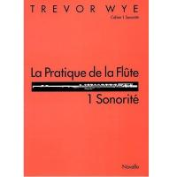 Trevor Wye La Pratique de la Flute 1 Sonorité - Novello