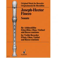 Joseph - Hector Fiocco Sonate OFB 28 - Schott