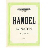 Handel Sonaten Oboe und Klavier (Stade) - Edition Peters