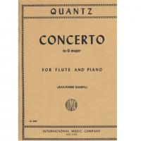 Quantz CONCERTO in G major for Flute and Piano - International Music Company