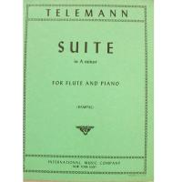 Telemann Suite in A minor for Flute and Piano (Rampal) - International Music Company