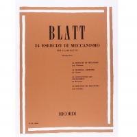 Blatt 24 Esercizi di meccanismo per clarinetto (Giampieri) - Ricordi