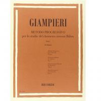 Giampieri Metodo Progressivo per lo studio del Clarinetto Parte I (II. Edizione) - Ricordi