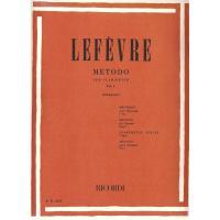 Lefèvre Metodo per clarinetto Vol. I (Giampieri) - Ricordi
