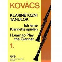 Kovacs I learn to play Clarinet 1 - Editio Musica Budapest