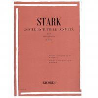 Stark 24 Studi in tutte le tonalità op. 49 per clarinetto (Garbarino) - Ricordi