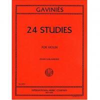Gaviniès 24 Studies For Violin (Ivan Galamian) - International Music Company